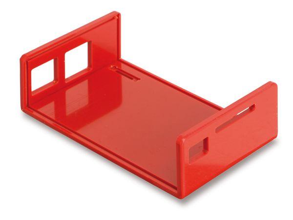 Raspberry Pi Gehäuse, Oberteil, rot - Produktbild 2