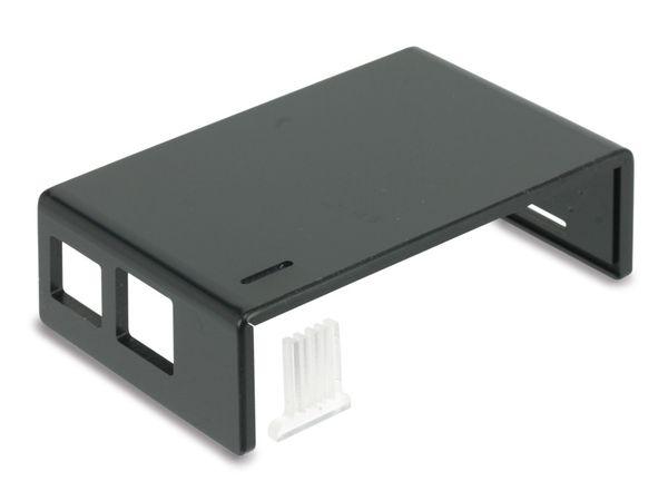 Raspberry Pi Gehäuse, Oberteil, schwarz - Produktbild 1