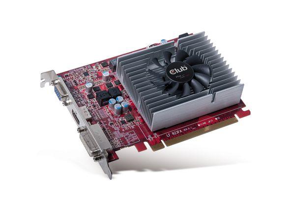 Grafikkarte CLUB 3D Radeon R7 250, 2GB DDR3 - Produktbild 1