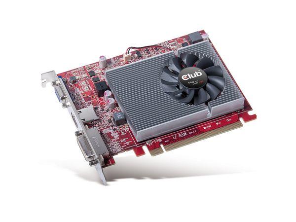 Grafikkarte CLUB 3D Radeon R7 240, 2GB DDR3 - Produktbild 1
