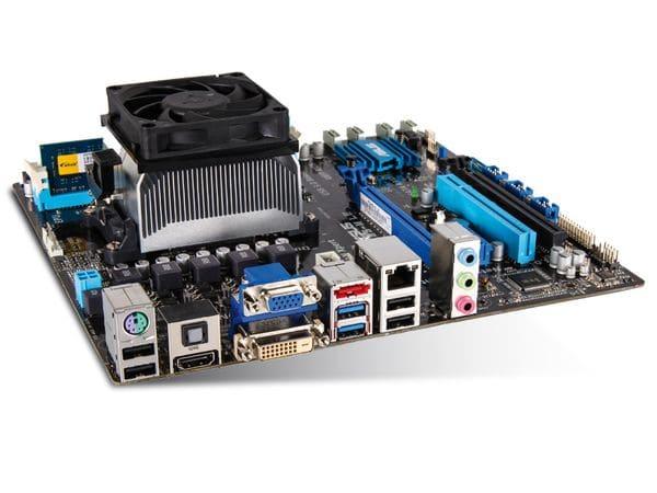 Mainboard-Bundle Gigabyte GA-F2A88XM-D3H, A10-7850K, 8 GB