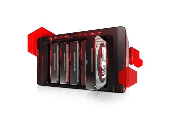"NAS SATA III Festplatte WD RED WD40EFRX, 3,5"", 4 TB, 5400 U/min - Produktbild 2"