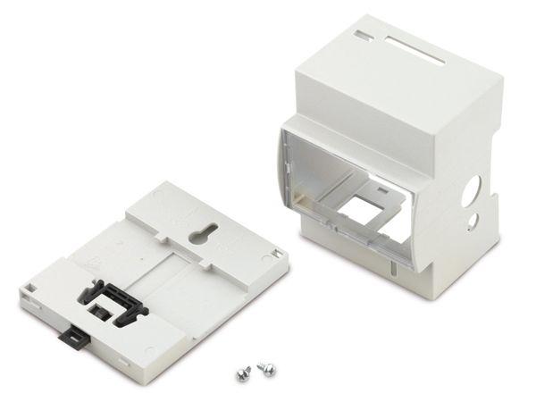 Hutschienen-Gehäuse für Raspberry Pi Model B, Kit 4M Rasp (25.0410000.RPI)