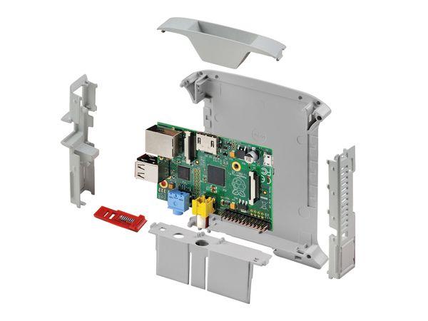 Hutschienengehäuse Italtronic 10.0012225.RPI für Raspberry Pi - Produktbild 3