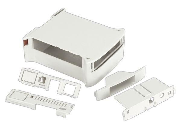 Hutschienen-Gehäuse für Raspberry Pi Model B, Kit 45 (10.0052450.RPI) - Produktbild 3