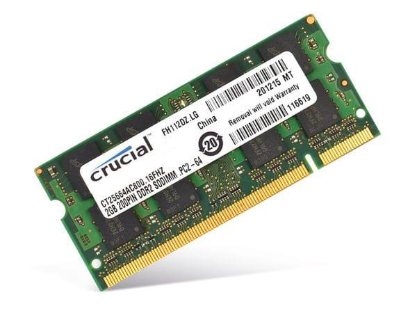 SO-DIMM DDR2-RAM CRUCIAL CT25664AC800