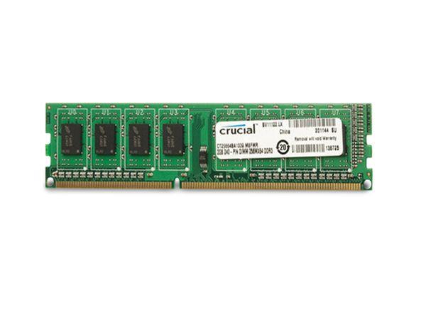 Speichermodul DDR3-RAM CRUCIAL CT25664BA1339
