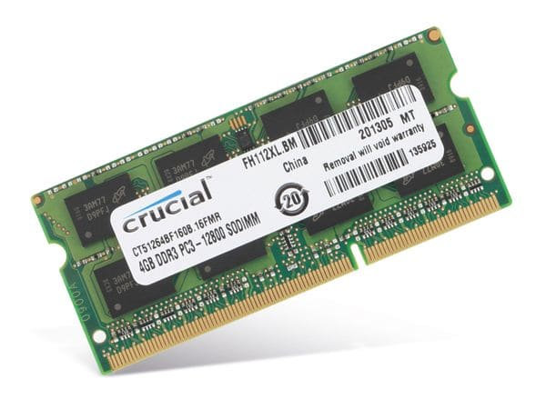 Speichermodul DDR3-RAM CRUCIAL CT51264BF160B