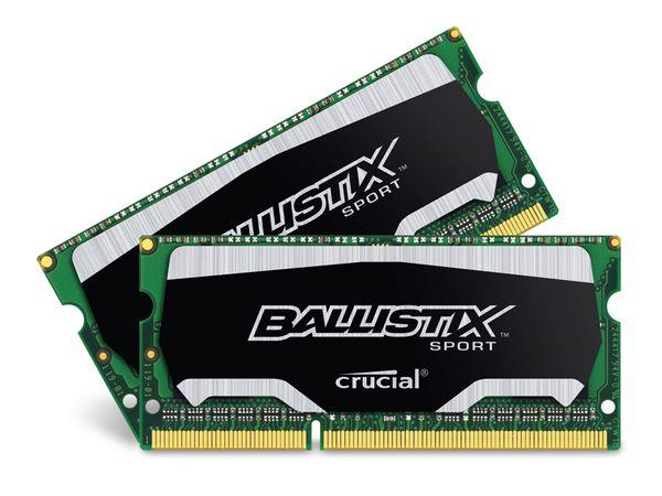 Speichermodul SO-DIMM DDR3-RAM CRUCIAL BLS2C8G3N18AES4CEU