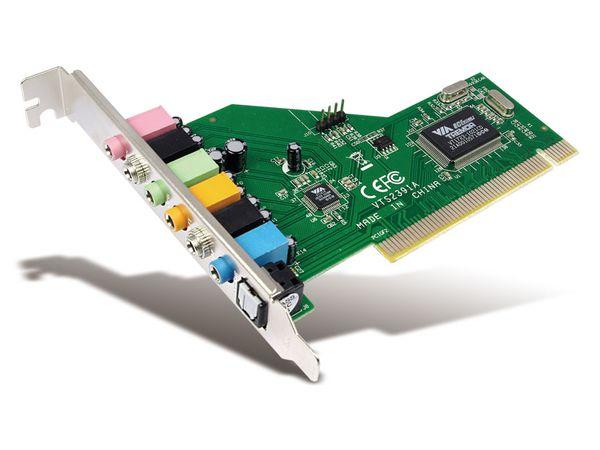 Soundkarte LOGILINK PC0043A 7.1 PCI