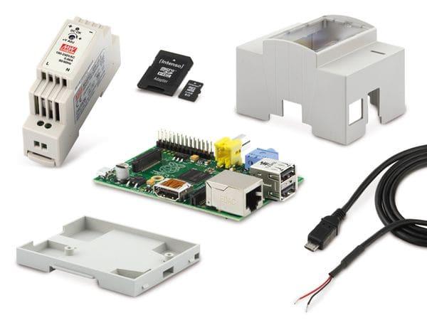 Raspberry Pi Hutschienen-Set - Produktbild 1