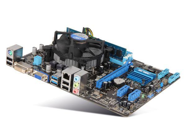 Mainboard-Bundle ASUS P8H61-MX USB3, Intel G2030, 4 GB