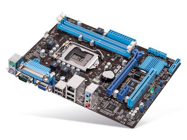 Mainboard ASUS H61M-C, Intel 1155 - Produktbild 1