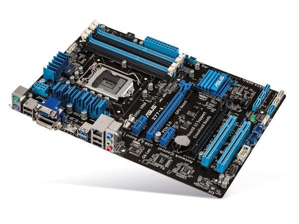 Mainboard ASUS Z77-A, Intel 1155 - Produktbild 1