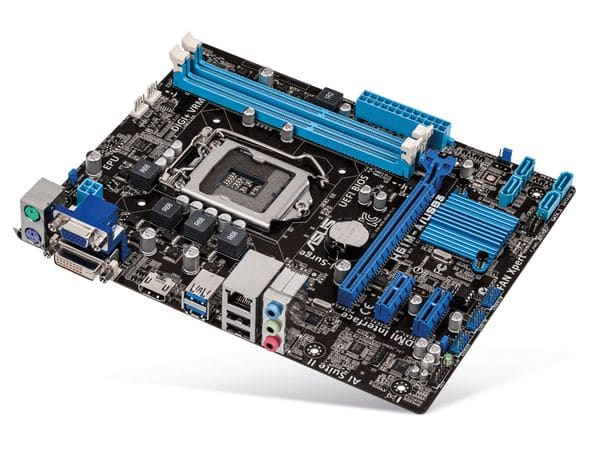 Mainboard ASUS H61M-A/USB3, Intel 1155 - Produktbild 1