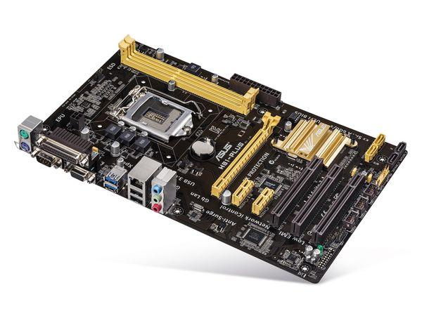 Mainboard ASUS H81-PLUS, Intel 1150 - Produktbild 1