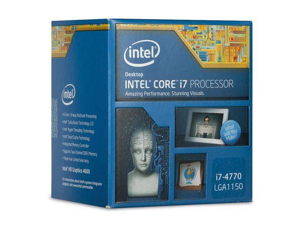 CPU Intel Core i7-4770 Quad-Core, Box