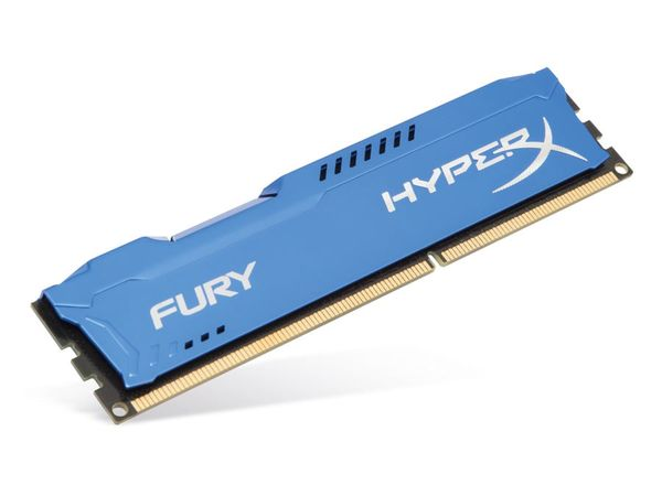 Speichermodul DDR3-RAM KINGSTON HX316C10F/4, FURY Blue