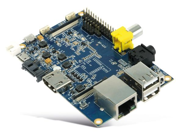 Banana Pi, Dual-Core, 1 GB DDR3, SATA, G-LAN - Produktbild 2