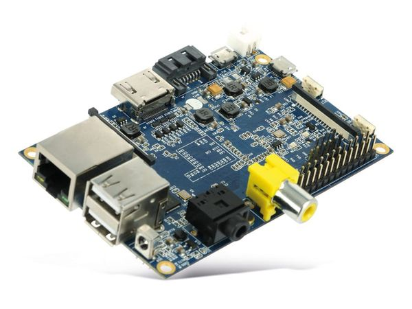 Banana Pi, Dual-Core, 1 GB DDR3, SATA, G-LAN - Produktbild 3