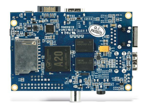 Banana Pi, Dual-Core, 1 GB DDR3, SATA, G-LAN - Produktbild 4