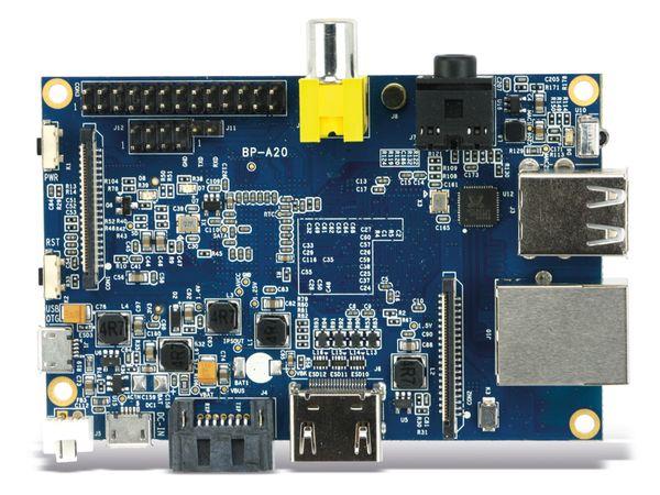 Banana Pi, Dual-Core, 1 GB DDR3, SATA, G-LAN - Produktbild 5
