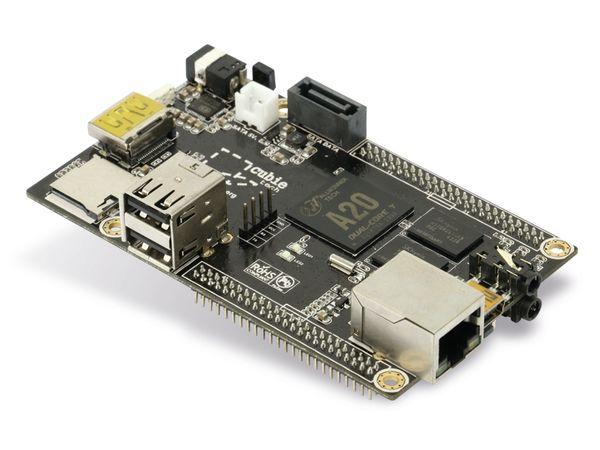 Cubieboard 2, A20, 1 GB, 4 GB NAND, SATA, HDMI - Produktbild 1