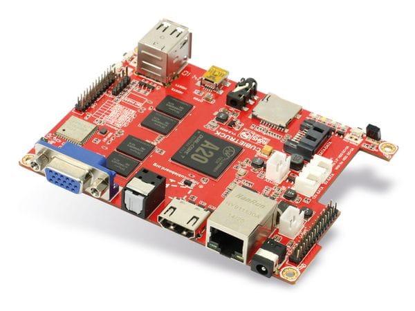 Cubieboard 3 (Cubietruck) Kit, A20, 2 GB, 8 GB, WLAN, BT, SATA - Produktbild 2
