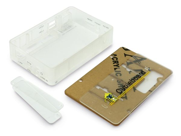 Cubieboard-Gehäuse Transparent - Produktbild 3