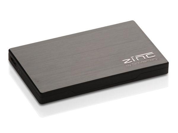 USB 3.0-HDD CnMemory Zinc, 1 TB, anthrazit