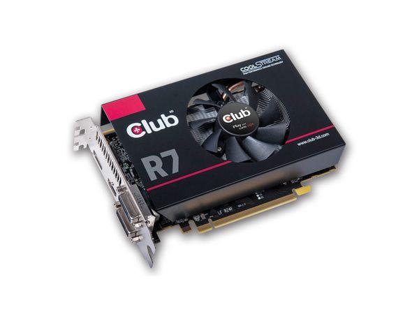 Grafikkarte CLUB 3D Radeon R7 260X RoyalQueen, 2GB GDDR5 - Produktbild 1