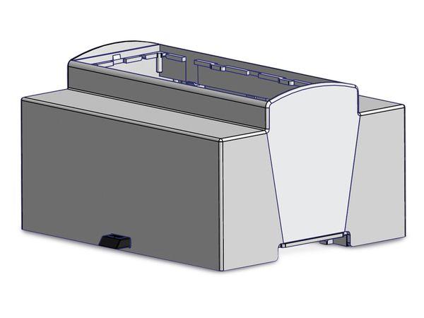 Hutschienen-Gehäuse für Raspberry Pi Model B+, 6TE - Produktbild 4