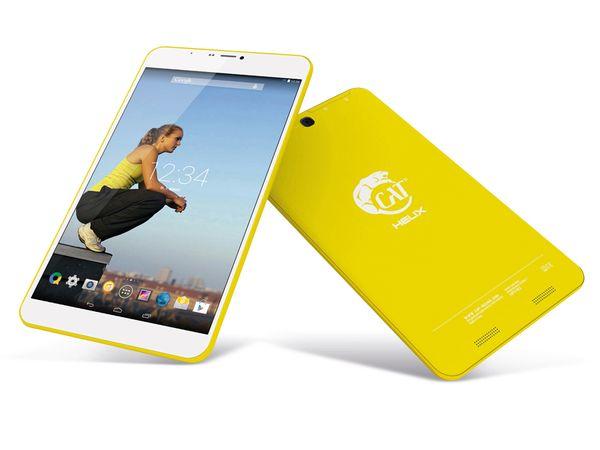 "Tablet-PC CAT Helix 8"", 3G, Android 4.4, Quad-Core, gelb - Produktbild 1"