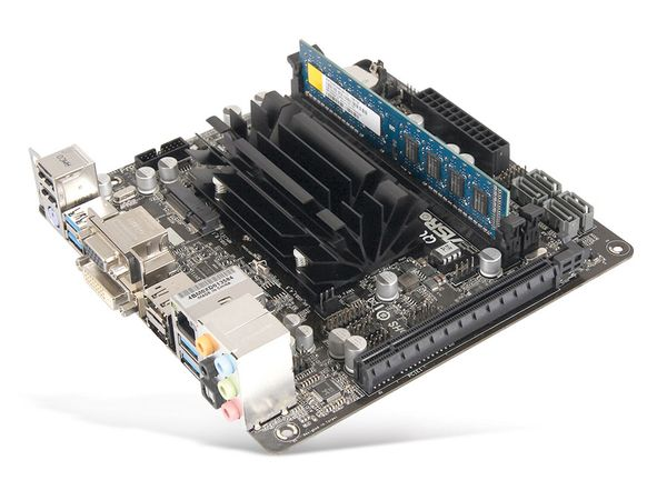 Mainboard-Bundle ASROCK QC5000-ITX/PH, A4-5000, 2 GB