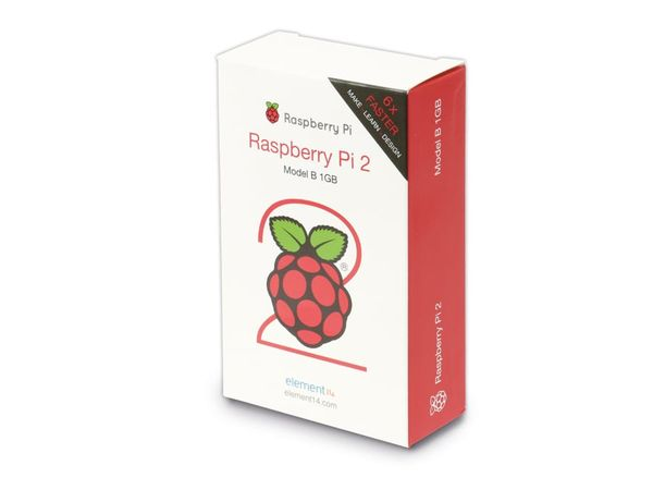 Raspberry Pi 2 Model B - Produktbild 3