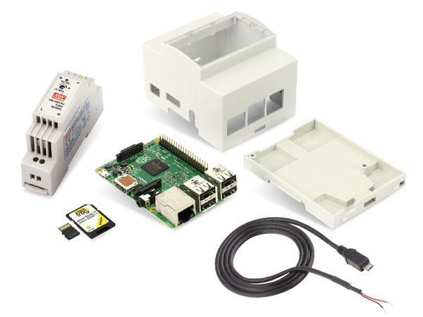 Raspberry Pi 2 Hutschienen-Set