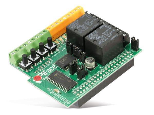 Raspberry Pi B+ Zusatzplatine PIFACE DIGITAL 2 - Produktbild 1