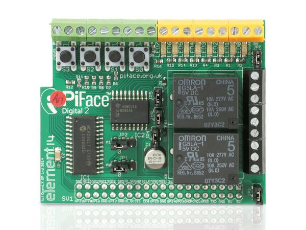 Raspberry Pi B+ Zusatzplatine PIFACE DIGITAL 2 - Produktbild 3