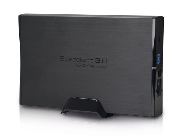 USB 3.0-HDD CnMemory Spaceloop, 3 TB, schwarz