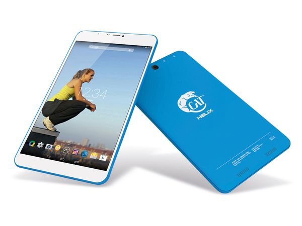 "Tablet-PC CAT Helix 8"", 8/1 GB, Android 4.4.2, Quad-Core, blau - Produktbild 1"