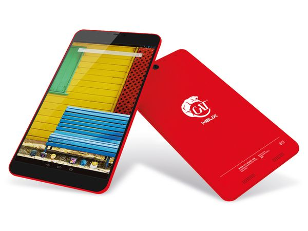 """Tablet-PC CAT Helix 8"""", 8/1 GB, Android 4.4.2, Quad-Core, rot - Produktbild 1"""