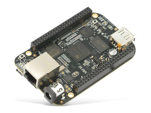 Einplatinen-Computer BeagleBone Black Rev C, 4 GB eMMC