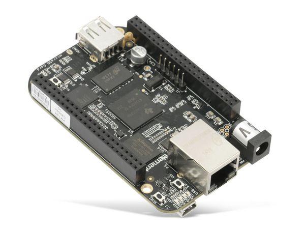 Einplatinen-Computer BeagleBone Black Rev C, 4 GB eMMC - Produktbild 2