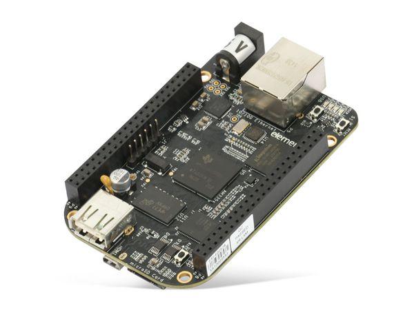 Einplatinen-Computer BeagleBone Black Rev C, 4 GB eMMC - Produktbild 3