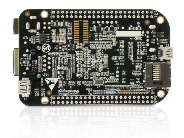 Einplatinen-Computer BeagleBone Black Rev C, 4 GB eMMC - Produktbild 5