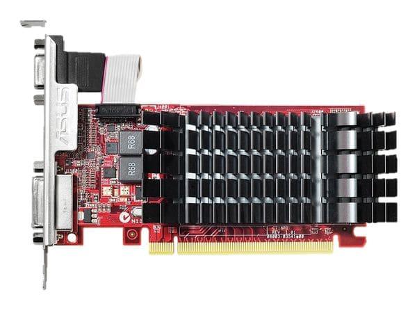 Grafikkarte ASUS Radeon R7 240, 2 GB DDR3, Low-Profile, passiv - Produktbild 1