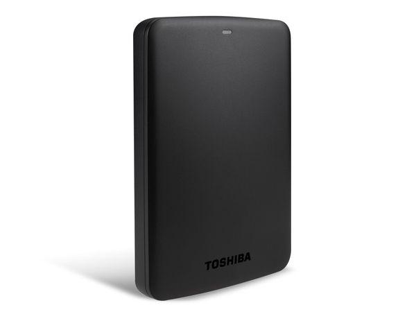 USB 3.0-HDD TOSHIBA Canvio Basics, 500 GB, schwarz - Produktbild 2