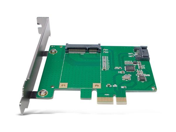 SATA-Controllerkarte LOGILINK PC0077, PCIe, mSATA SDD + SATA III SSD/HDD - Produktbild 3