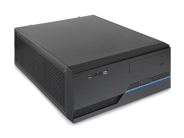 Barebone-PC JOY-IT, Gigabyte GA-H81M-D2V, Intel i3-4130, 4 GB - Produktbild 1