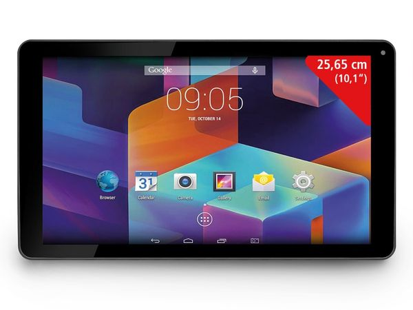 Tablet-PC HANNSPREE HANNSpad SN1AT75B, Android 4.4, 10,1""